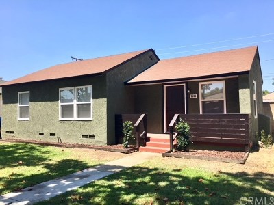 Long Beach Single Family Home For Sale: 3533 Wise Avenue