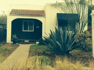 Whittier Single Family Home For Sale: 6237 Western