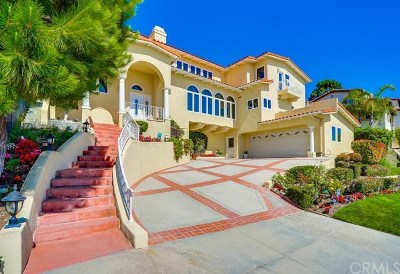 Rancho Palos Verdes Single Family Home For Sale: 30178 Cartier Drive