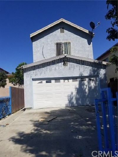 Compton Single Family Home For Sale: 710 N Willowbrook Ave