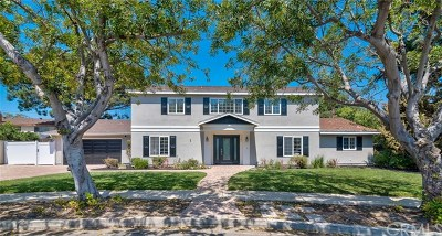 North Tustin Single Family Home For Sale: 1161 Ravencrest Road
