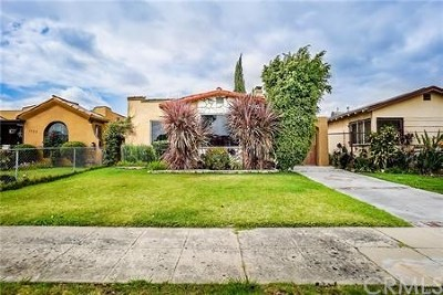 Los Angeles Single Family Home For Sale: 1453 W 88th Street