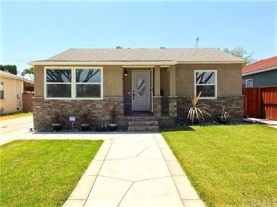 Lakewood Single Family Home For Sale: 5013 Bellflower Boulevard