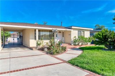 Bellflower Single Family Home For Sale: 14740 Betty Jean Avenue