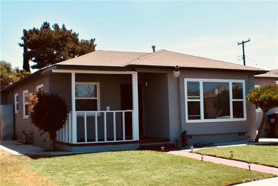 Compton Single Family Home For Sale: 804 N Evers Avenue