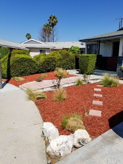 Compton Single Family Home For Sale: 1023 W 137th Street