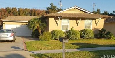 La Mirada Single Family Home For Sale: 14454 Plantana Drive