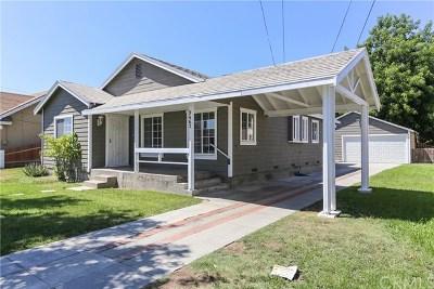 Bellflower Single Family Home For Sale: 9463 Los Angeles Street