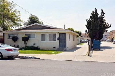 Bellflower Multi Family Home For Sale: 9328 Ramona Street