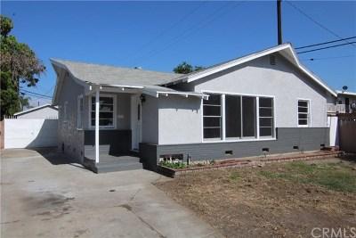 Long Beach Single Family Home For Sale: 6650 Coronado Avenue