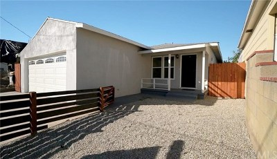 Torrance Single Family Home For Sale: 1517 W 223rd Street