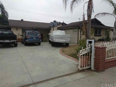Anaheim Single Family Home For Sale: 734 N Bush Street