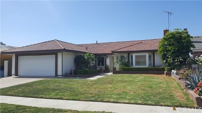 Fountain Valley Single Family Home For Sale: 18441 Gifford Street