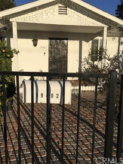 Artesia Single Family Home For Sale: 19402 Norwalk Boulevard