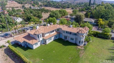 La Habra Heights Single Family Home For Sale: 1440 Popenoe Road
