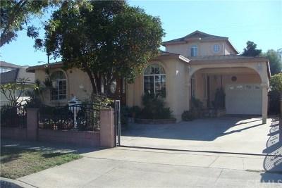 Santa Fe Springs Single Family Home For Sale: 11578 Willake Street