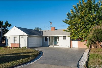 Downey Single Family Home For Sale: 10219 Wiley Burke Avenue