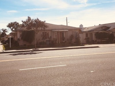 La Habra Single Family Home For Sale: 300 W La Habra Boulevard