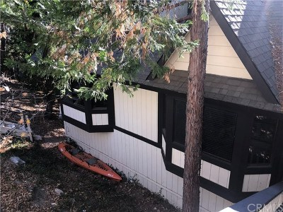 Lake Arrowhead CA Single Family Home For Sale: $337,800