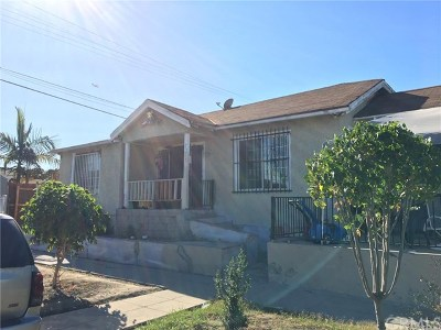 Los Angeles Single Family Home For Sale: 7305 Raymond Ave Avenue