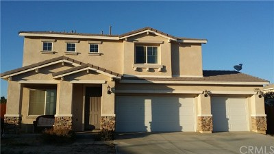 Rosamond Single Family Home For Sale: 3437 Gemstone Avenue