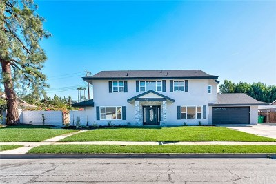 North Tustin Single Family Home For Sale: 11912 Marble Arch Drive