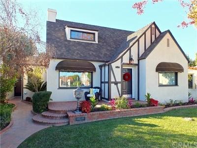 Long Beach Single Family Home For Sale: 3735 Gaviota Avenue