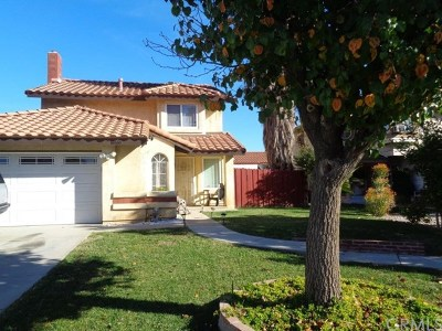 Moreno Valley Single Family Home For Sale: 16460 Hazelwood Court