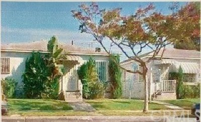 Los Angeles Multi Family Home For Sale: 1209 E 83rd Street