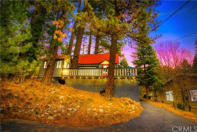 Blue Jay, Cedarpines Park, Crestline, Lake Arrowhead, Running Springs Area, Twin Peaks, Big Bear, Arrowbear, Cedar Glen, Rimforest Single Family Home For Sale: 23882 Springwater Road