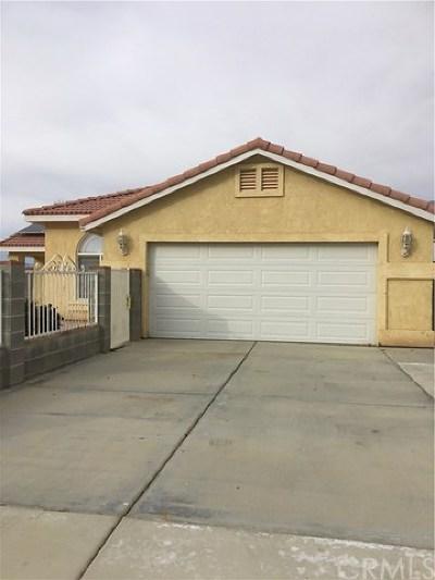 California City Single Family Home For Sale: 9601 Peach Avenue