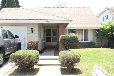 Cerritos Single Family Home For Sale: 10726 Elgers Street