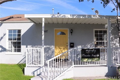 Single Family Home For Sale: 14882 Wadkins Avenue