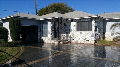 Santa Fe Springs Single Family Home For Sale: 9131 Corby Avenue