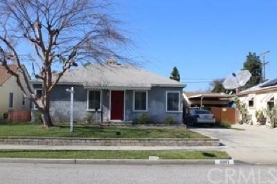 Lakewood Single Family Home For Sale: 6003 Dunrobin Avenue