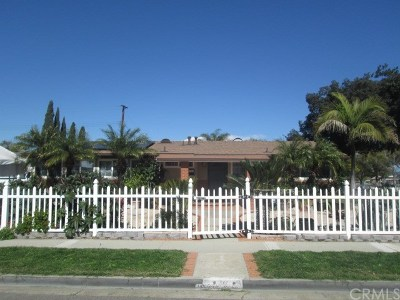 Fullerton Single Family Home For Sale: 501 W Gage Avenue