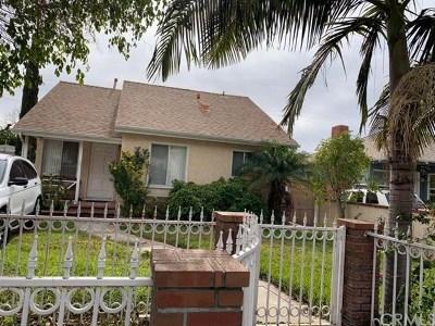 San Fernando Single Family Home For Sale: 824 Orange Grove Avenue