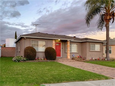 Downey Single Family Home Active Under Contract: 8615 Stewart And Gray Road
