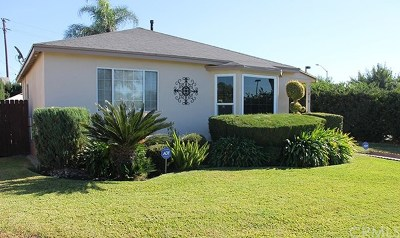 Downey Single Family Home For Sale: 11810 Corrigan Avenue