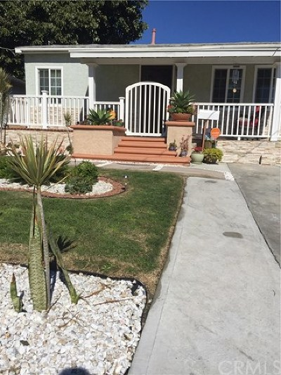 Torrance Single Family Home For Sale: 1663 W 214th Street