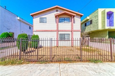 Inglewood Condo/Townhouse For Sale: 417 E 98th Street #1