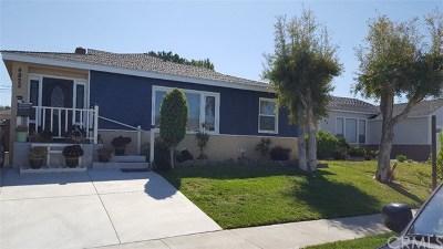 Lakewood Single Family Home For Sale: 4822 Castana Avenue
