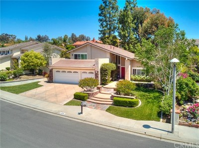 Yorba Linda Single Family Home For Sale: 5288 Vista Montana