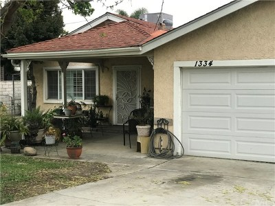 Redlands Single Family Home For Sale: 1334 Texas Street