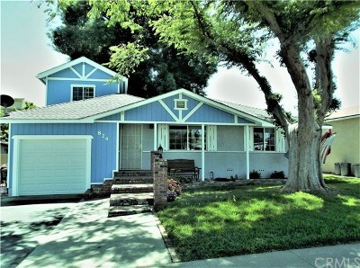 Brea Single Family Home For Sale: 824 Willow Drive
