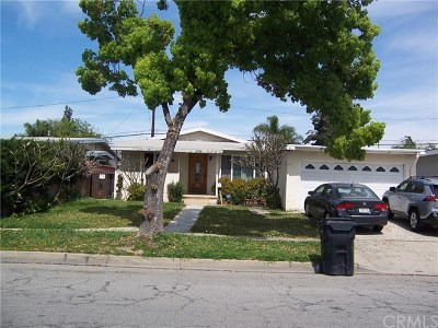 Santa Fe Springs Single Family Home Active Under Contract: 11221 Shade Lane
