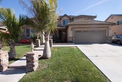 Corona Single Family Home For Sale: 14343 Pointer