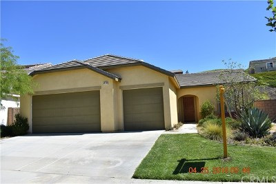 Lake Elsinore Single Family Home For Sale: 34110 Camelina Street