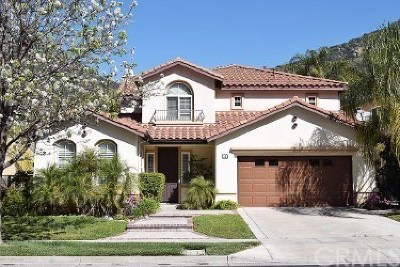Azusa Single Family Home For Sale: 15 River Rock Court