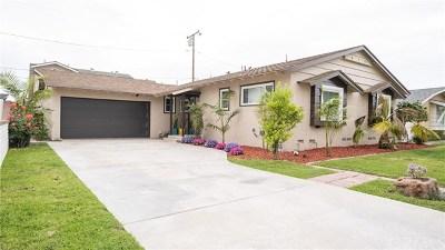Buena Park Single Family Home Active Under Contract: 7200 Santa Catalina Circle